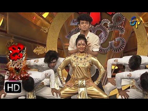 Sanketh and Priyanka Performance | Dhee Jodi | 4th January 2017| ETV Telugu