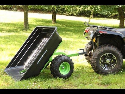 ATV/GARDEN tractor Trailer JOBER 300