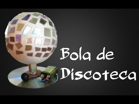 Como hacer una bola de discoteca ideatronic youtube - Bola de discoteca ...