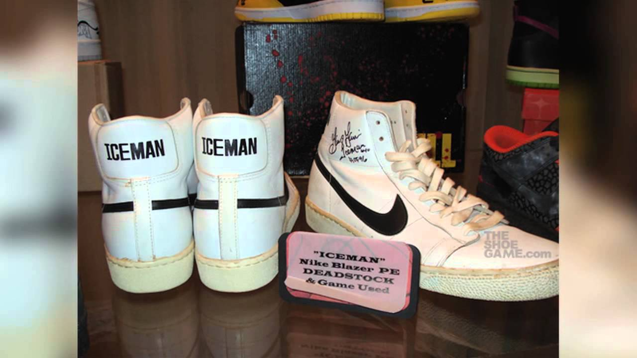 reputable site 7bc21 ee032 George Gervin Explains Evolution of Nike Blazer