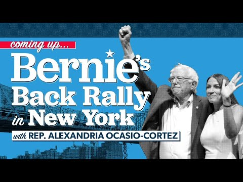 Watch live: Sanders holds rally with Ocasio-Cortez