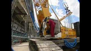 видео Использование балок переменного сечения в строительстве складов