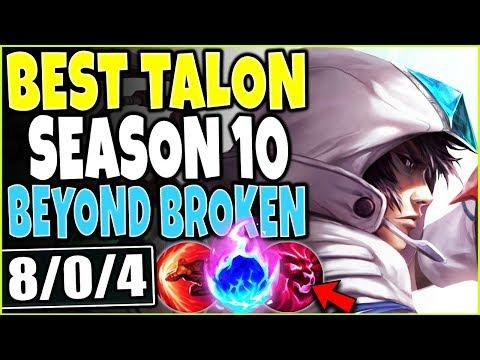 BEST TALON SEASON 10 BUILD 🔥 BEYOND BROKEN ONE SHOTS 🔥 LOL TOP Talon Vs Zed S10 League Of Legends