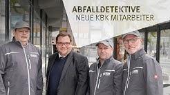Abfalldetektive des Kommunalbetriebs Krefeld (KBK)