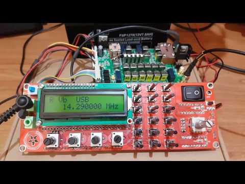 Home made 6.1 SSB transceiver - RX test