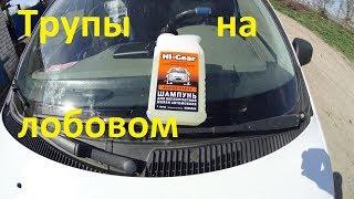 Самое лучшее средство для мойки авто! отмываем мошек