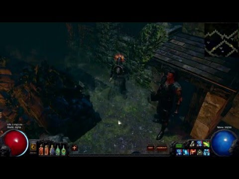 Path of Exile Ultimate Catarina's Hideout - Time lapse video nearly 4 hours in to 15 minutes