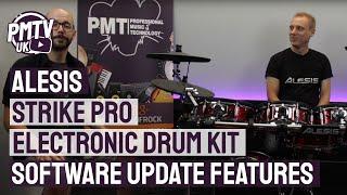 Скачать Alesis Strike Pro Firmware Update Version 1 4 New Features Demo Overview
