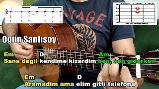 Ogün Sanlısoy-Saydım Gitar Dersi  Başlangıç Seviye