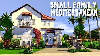 Small Family Mediterranean 🌺 || The Sims 4: Speed Build