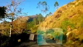 An amazing view of Munnar Top Station Drive in idukki, Kerala, India...