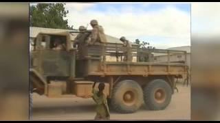 Somalia 1992-1993 Restore Hope,  part 1.  storage of food