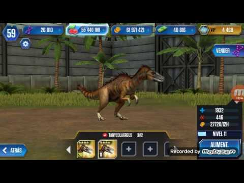 Jurassic World: The game - Tanycolagreus MAX LVL