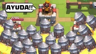 TRY NOT TO LAUGH CHALLENGUE CLASH ROYALE  ⚡ BEST FAILS + BUGS + HUMILLATIONS + RAMDOM (COMPILATION)