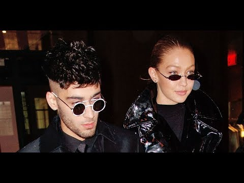 Gigi Hadid and Zayn Malik Wore 'Matrix' Inspired Outfits on a Night Out
