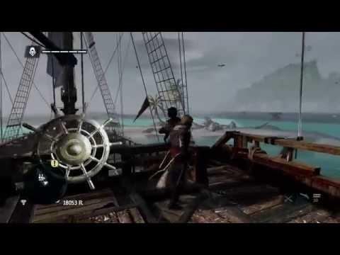 Assassins Creed Black Flag tornado destroying ship