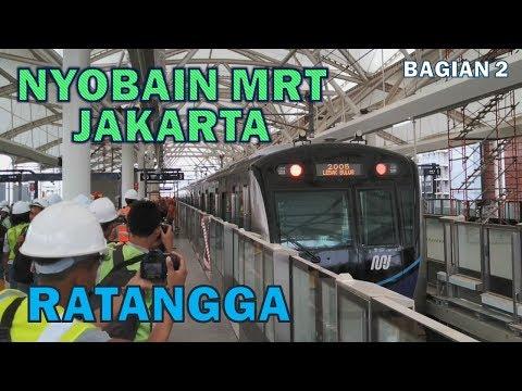 Mencoba MRT Jakarta Pertama Kali dari Lebak Bulus ke Bundaran HI (Part 2) Mp3