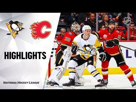 NHL Highlights   Penguins @ Flames 12/17/19