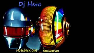 Dj Hero Hollaback Girl VS Feel Good Inc download