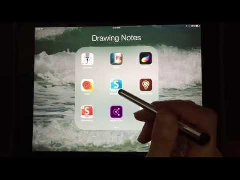 Sketchbook X (Express) App Quickstart Video Tutorial