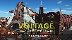Voltage, Back to Hydrea III - Planet Coaster [Mine train coaster]