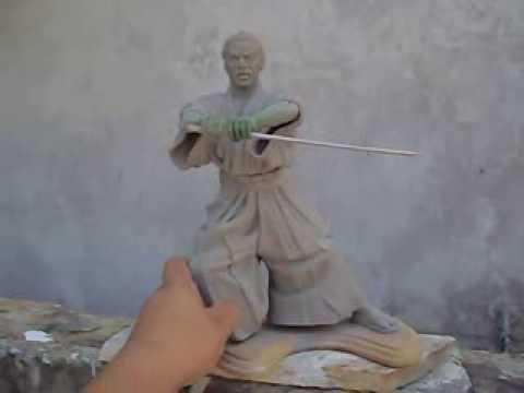 TOSHIRO MIFUNE SCULPTURE