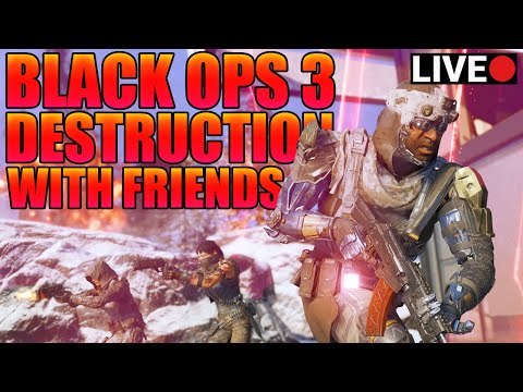 COD BO3 SEARCH AND DESTROY LIVE DESTRUCTION
