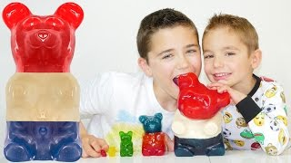 LE PLUS GROS BONBON OURSON DU MONDE - World's Largest Gummy Bear!