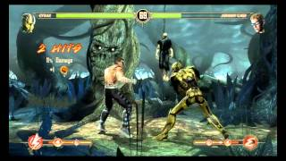 Mortal Kombat Komplete Edition - Cyrax vs Johnny Cage - Ladder mode