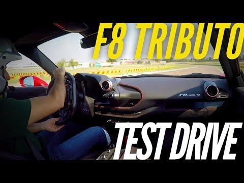 Ferrari F8 Tributo : first drive at Fiorano