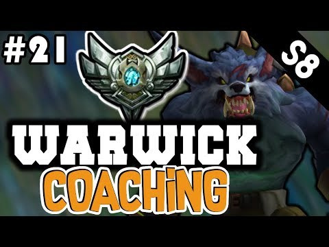 Warwick Jungle Coaching Guide (Silver) - League of Legends Coaching #21
