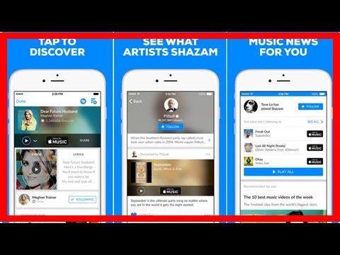 Apple Seeking Regulatory Approval For Shazam Acquisition