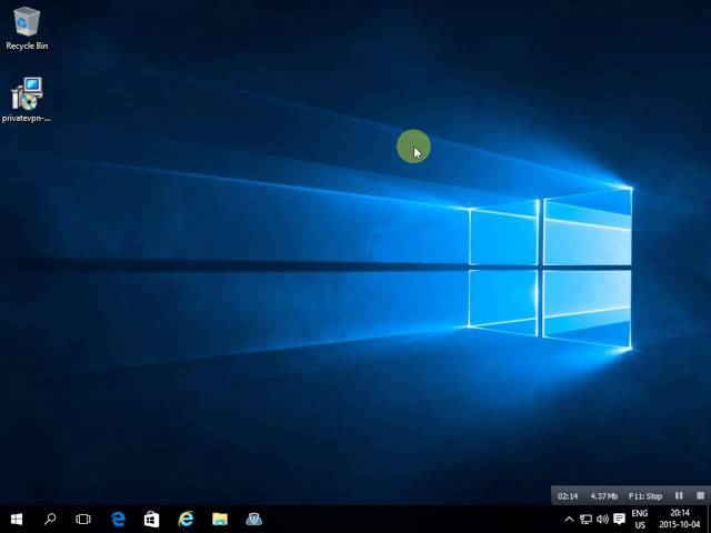 Windows 10 PrivateVPN Client - How to install