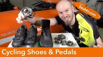 Shoes and Pedals for Recumbents and Velomobiles