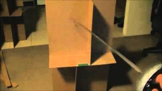Cheapo Cardboard Table Leg