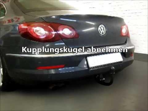 anh ngerkupplung am vw passat cc abnehmbar 1135933 youtube. Black Bedroom Furniture Sets. Home Design Ideas