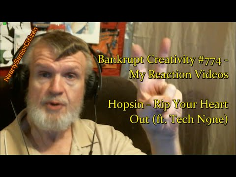 Hopsin - Rip Your Heart Out (ft. Tech N9ne) : Bankrupt Creativity #774 - My Reaction Videos`