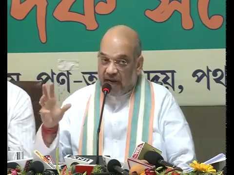 Press Conference by Shri Amit Shah in Agartala, Tripura : 06.05.2017
