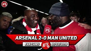 Arsenal 2-0 Man United | Mesut Ozil Worked His Socks Off! (Kenny Ken)