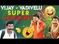 Vijay - Vadivelu Super Comedy Scene | Compilations | UIE