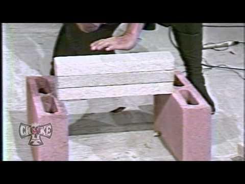 GrandMaster Bao Truyen breaks stacks of hard Bricks with simple Newspaper with Qigong energy