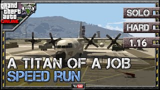 GTA 5 Online - A Titan of a Job 1.16 - Speed Run [6:20] - SOLO HARD GTA V Lester Mission
