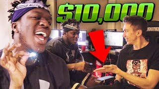 GIVING KSI $10,000 SIDEMEN CHAIN!