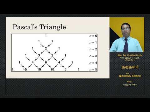 NIE Guru Gedara | A/L Combined Maths - Lesson 01 - Tamil Medium - 2020.04.28 - 04.00PM