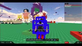 how to kill barney ROBLOX