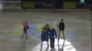 Звезды на Льду в Израиле - Елена Леонова и Александр Носик