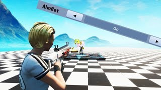 This is How Fortnite Added AIMBOT in Game!!! (legal aimbot in fortnite)