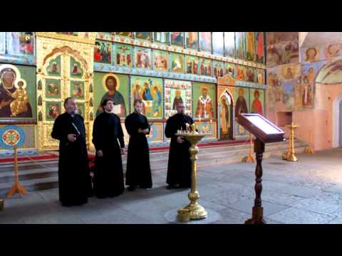 Хор Александро-Свирского Монастыря