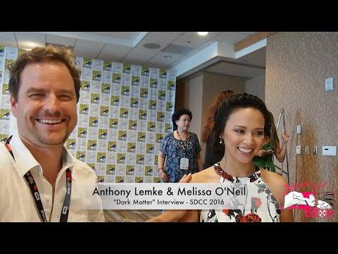Anthony Lemke and Melissa O'Neil