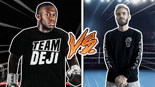 CHALLENGING PEWDIEPIE TO A BOXING MATCH...